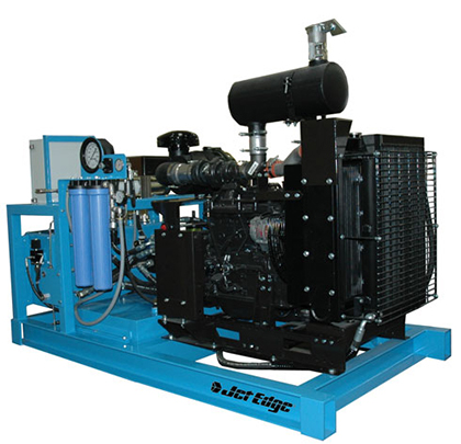 60,000 psi Jet Edge iP60-80DS pump