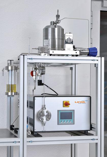 high pressure micro-metering pump