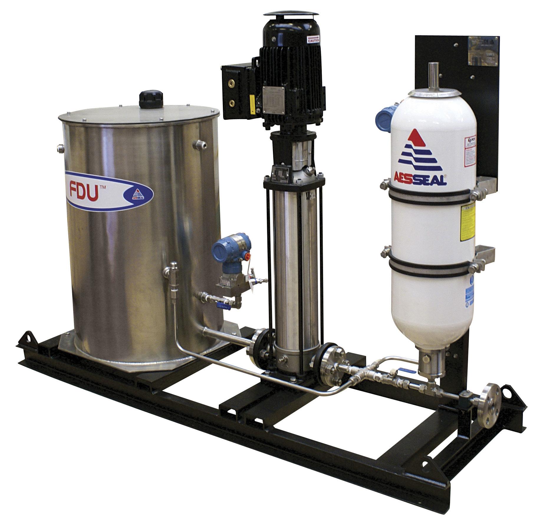 pressurized pump-around system