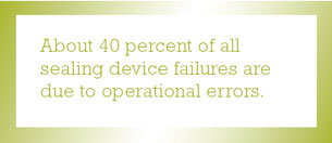 Sealing device failure quote
