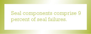 Seal components comprise quote
