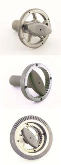 high torque 4-pole motors