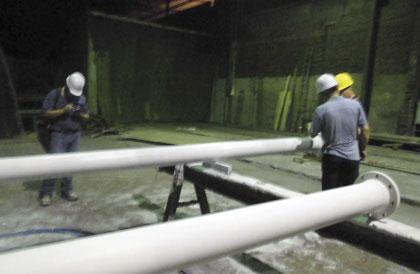 corrosion resistant CBPC coating