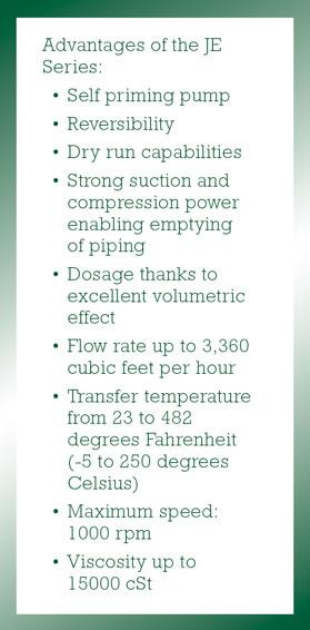 Advantages of JE Series