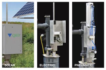 solar, electric, pneumatic pump