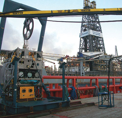 Chukar Waterjet Helps Stop Gulf of Mexico Oil Spill