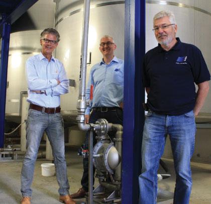 Gerrit Klaassen, Tonny Zaarbelink and Henk Blom