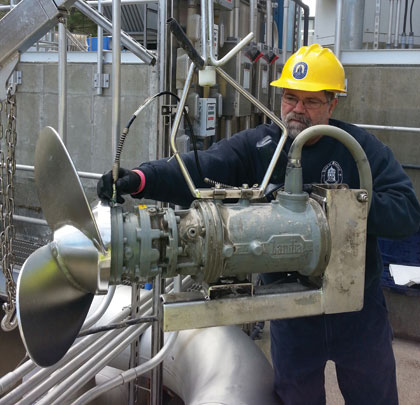 Landia pumps working