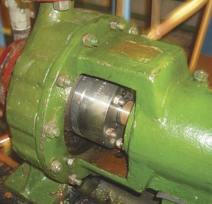 Leakage in a Centrifugal Pump