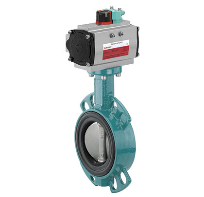 GEMÜ 480 and the 490 butterfly valve series
