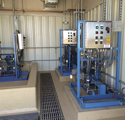 Treatment-Plant System