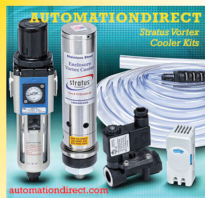 AUTOMATIONDIRECT Stratus Vortex Cooler Kits | Modern Pumping Today