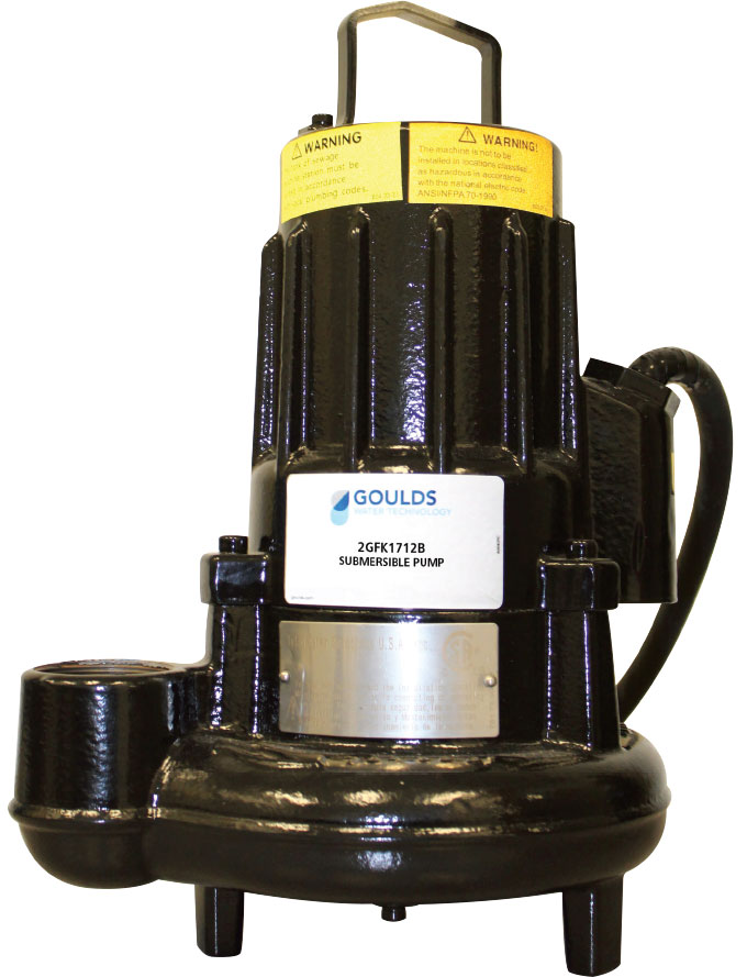 GFK submersible sewage pump