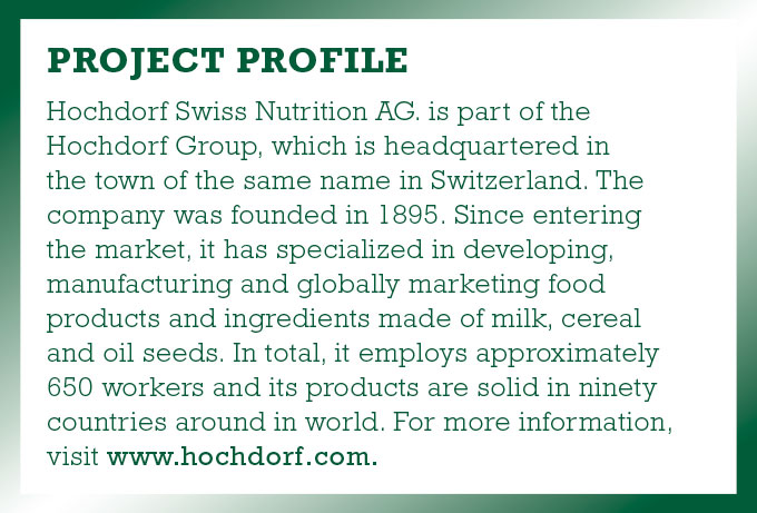 Hochdorf Swiss Nutrition AG Project Profile