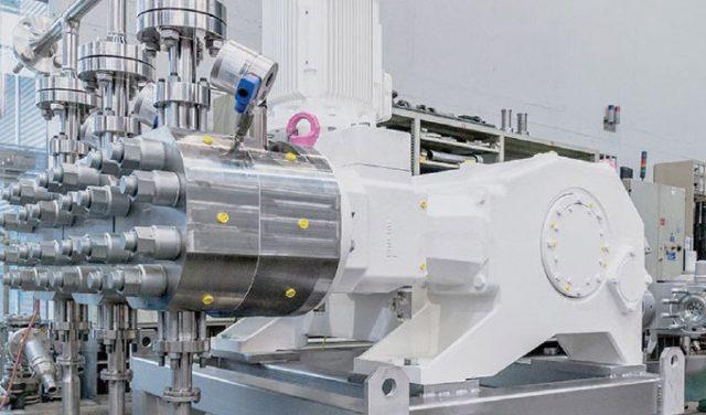 Triplex G3F hygienic process diaphragm pump