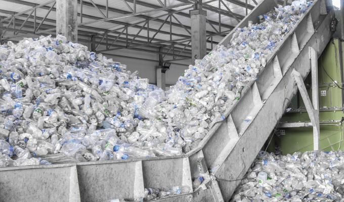 Recycling Center Gives New Life to Plastic Bottles Using Submersible Fahrenheit Pumps
