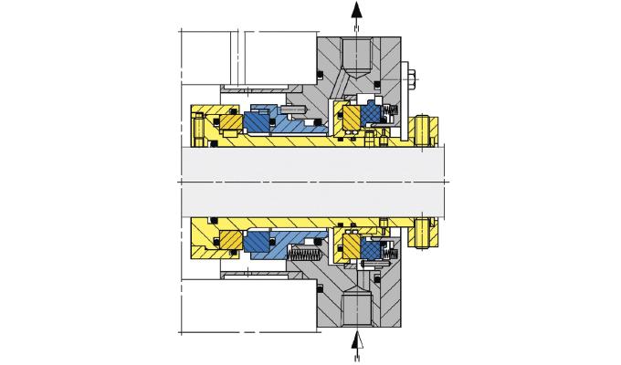 Standardized pipeline seal type SHI300