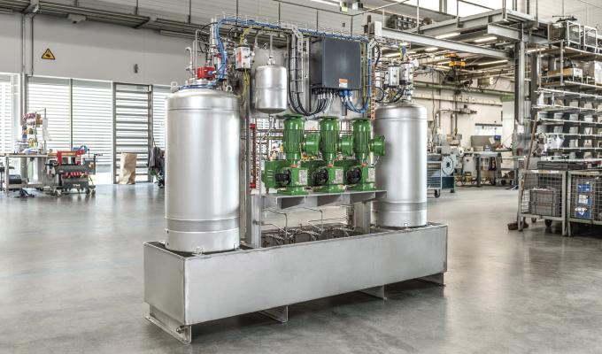 LEWA Ecoflow diaphragm metering pump