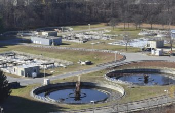 Municipal wastewater plant