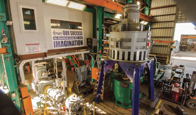 Large Vertical Motor Load Testing Minimizes Downtime and Expense