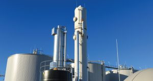 Measuring biogas production