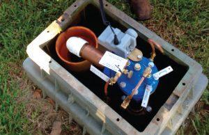 Flushing unit
