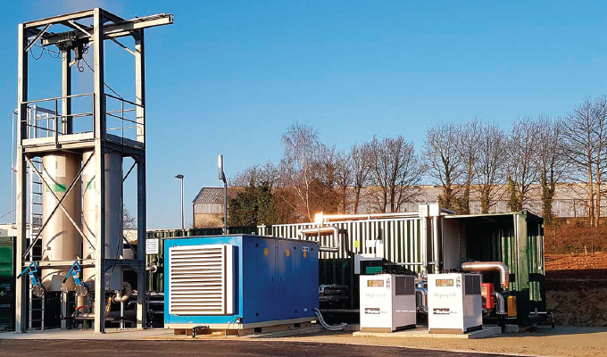 Biomethane Plant Processes Leftovers into Green Energy