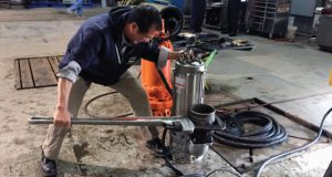 Floatless pump control